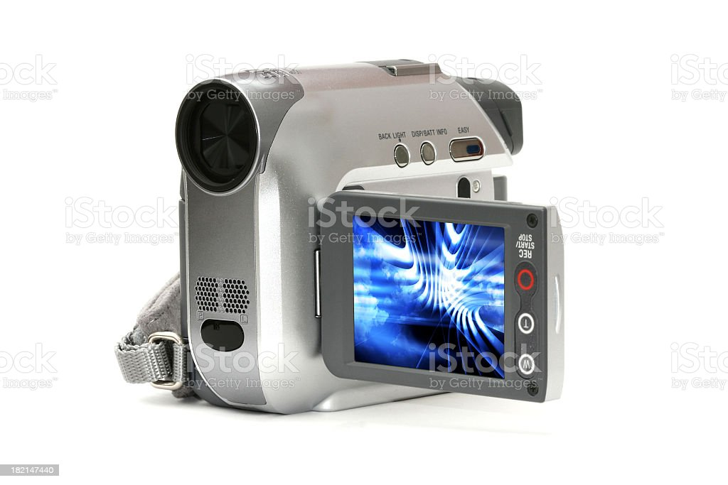Mini DV Camera stock photo