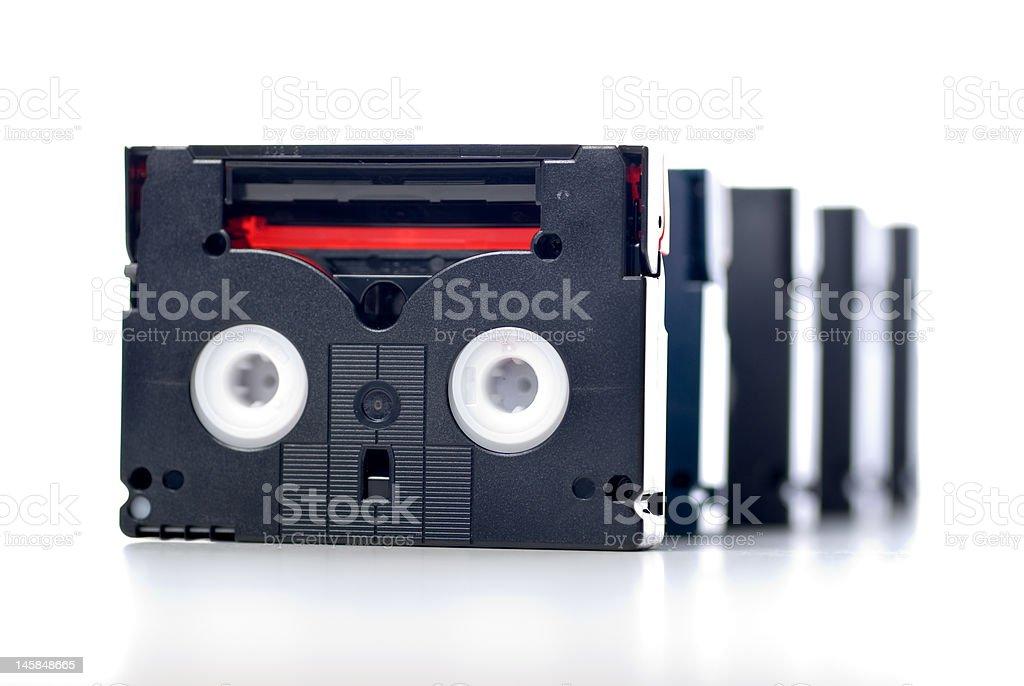 Mini DV stock photo