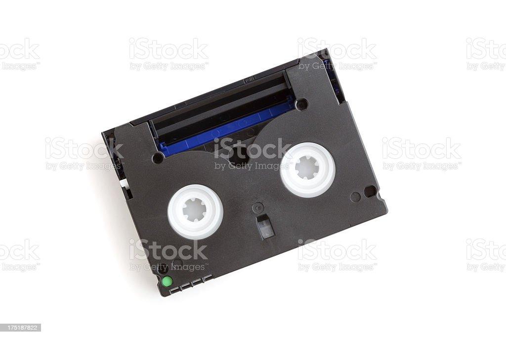 Mini DV tape stock photo