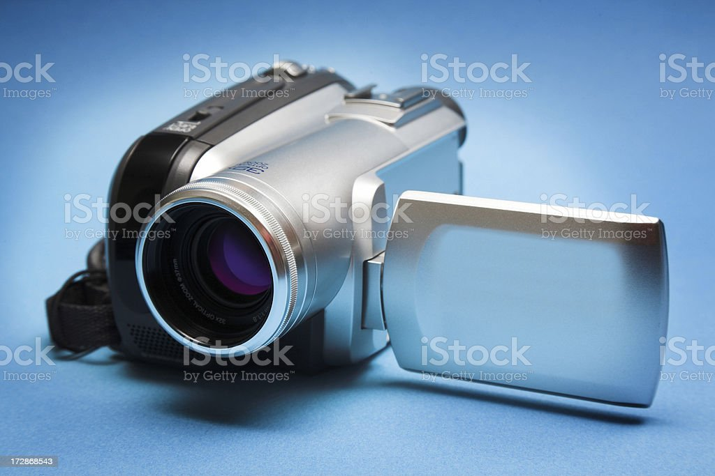 Mini DV video camera stock photo