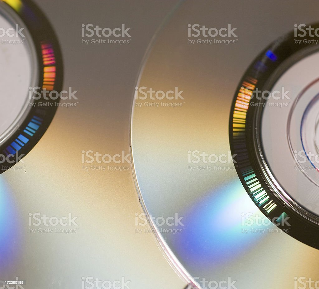 Mini DVD royalty-free stock photo