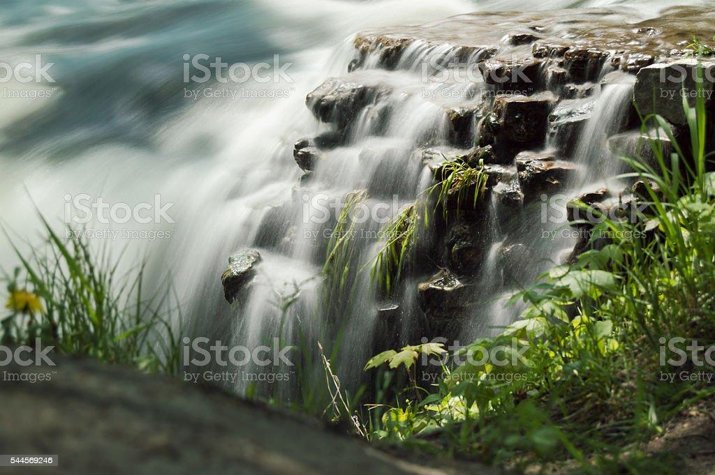 Mini Falls stock photo