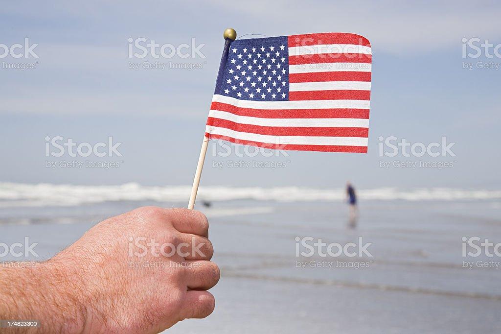 Mini flag royalty-free stock photo