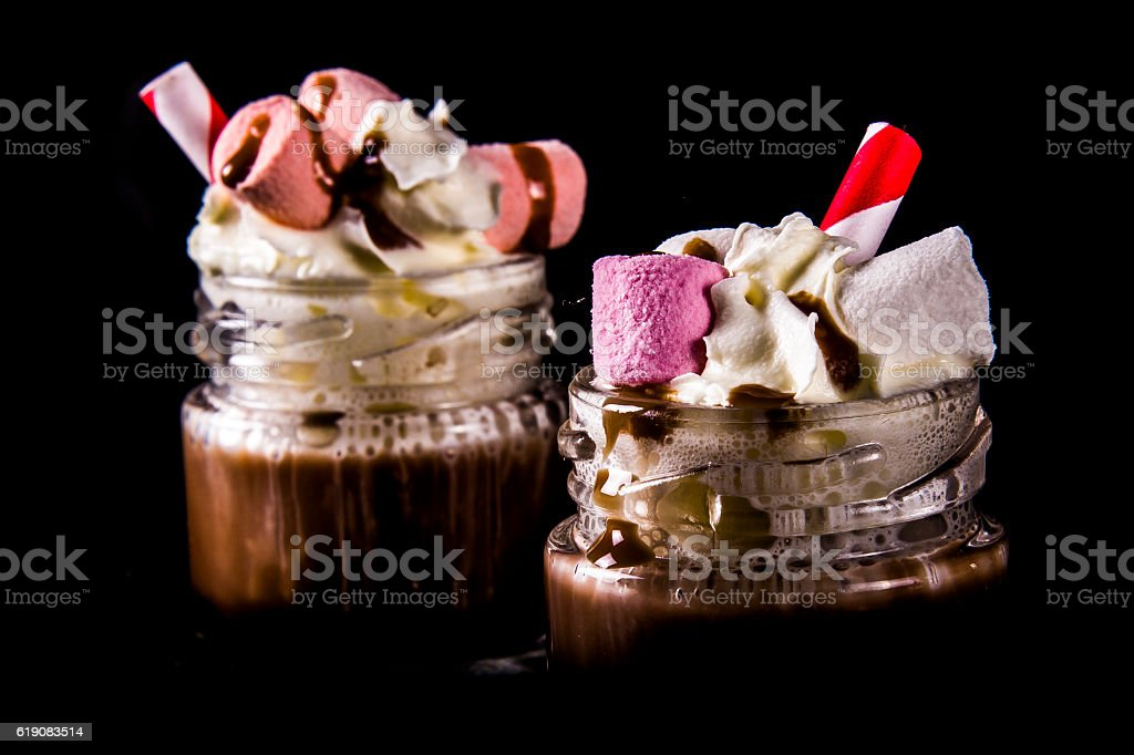 Mini Hot Chocolate's stock photo