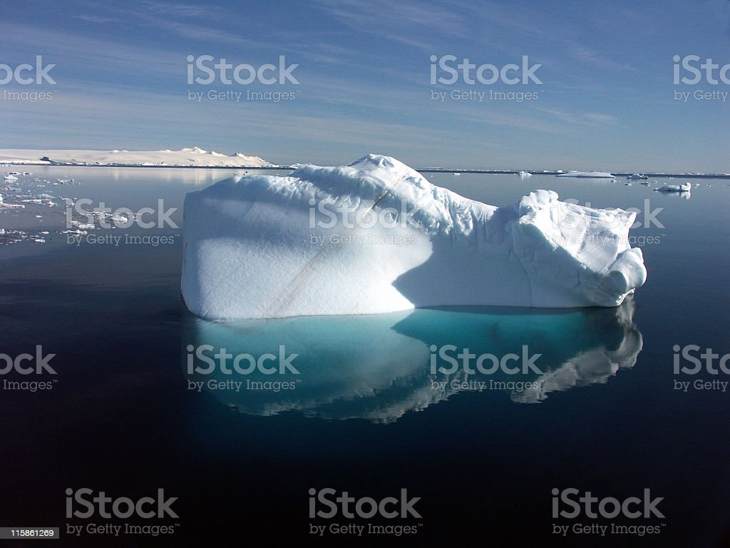 Mini iceberg stock photo