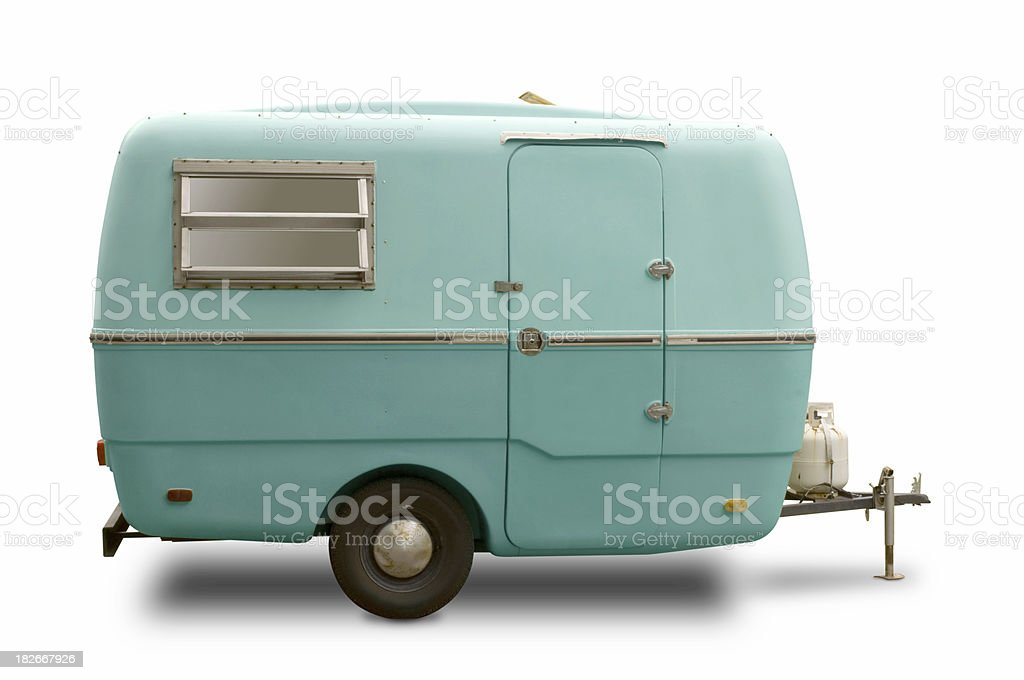 Mini RV Trailer 4 stock photo