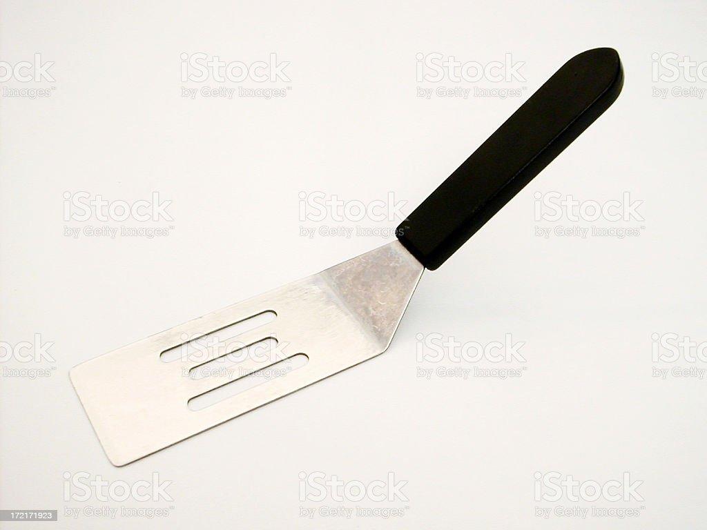 mini spatula royalty-free stock photo