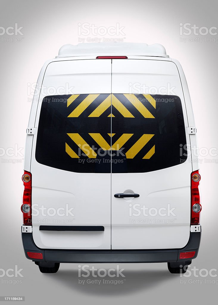 Mini Van royalty-free stock photo