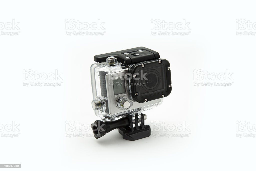 mini waterproof camera stock photo