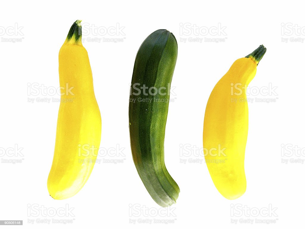 Mini Courgettes royalty-free stock photo
