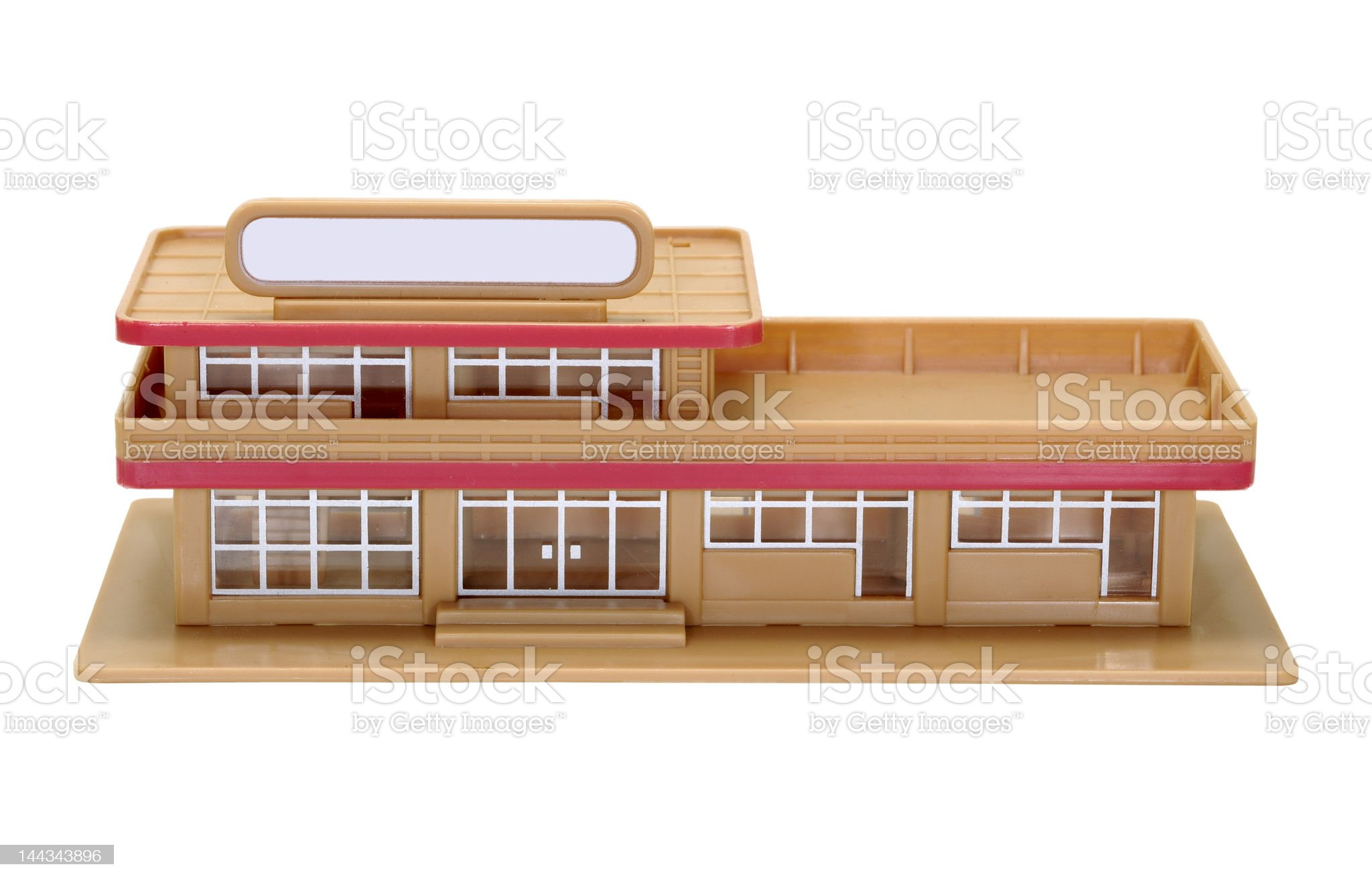 Miniature Building royalty-free stock photo