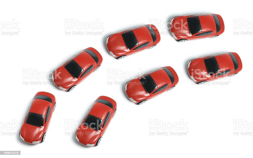 Miniature Cars royalty-free stock photo