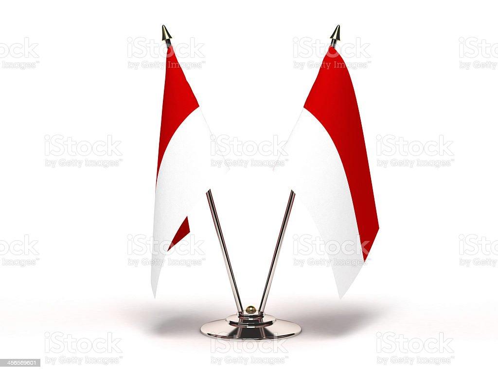 Miniature Flag of Hesse stock photo