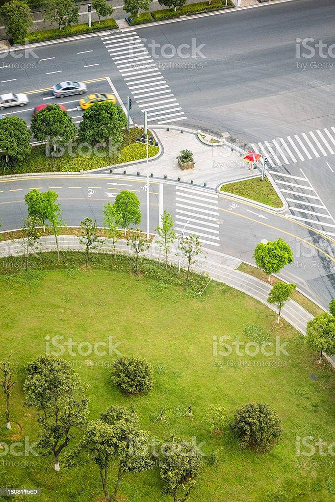 Miniature green garden royalty-free stock photo