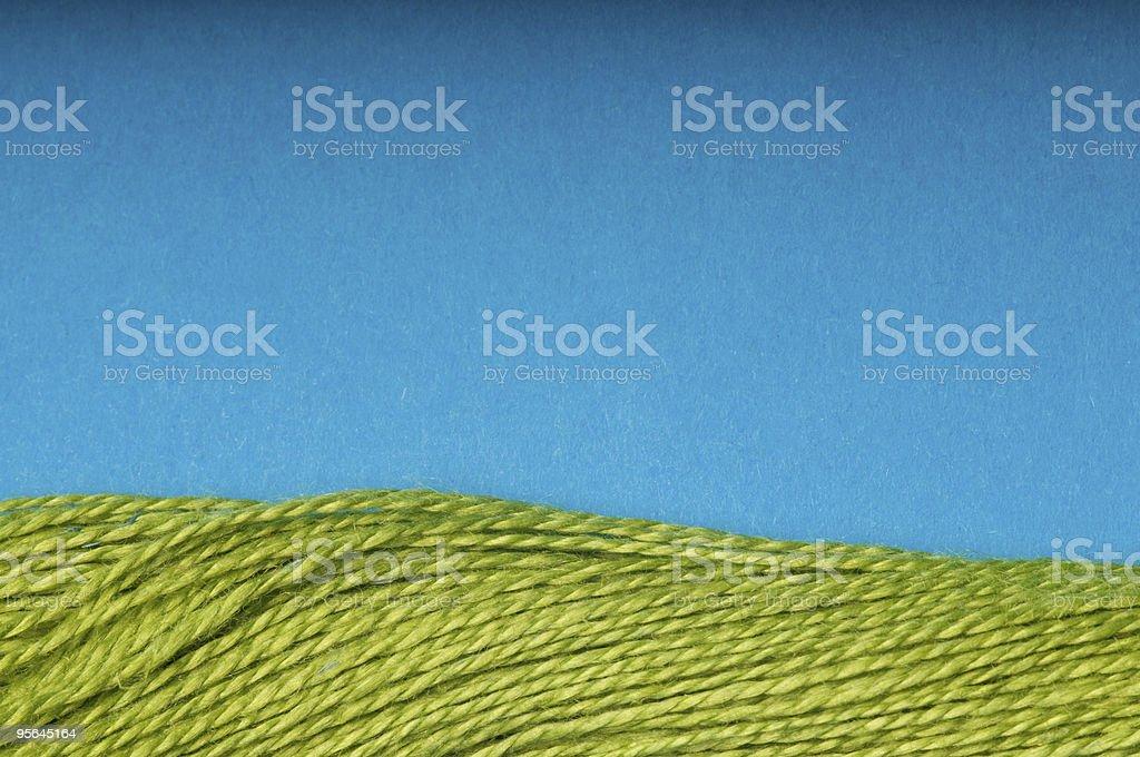 Miniature landscape stock photo