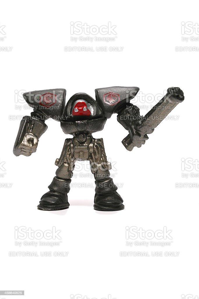 Miniature Robots royalty-free stock photo