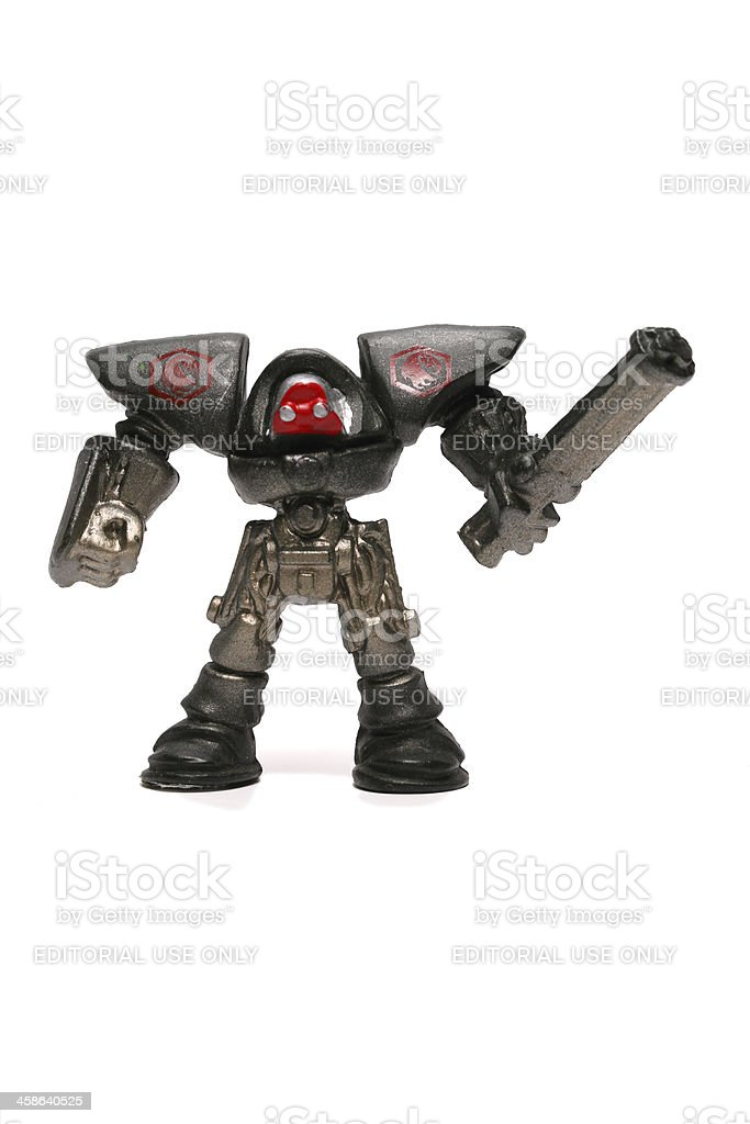Miniature Robots stock photo