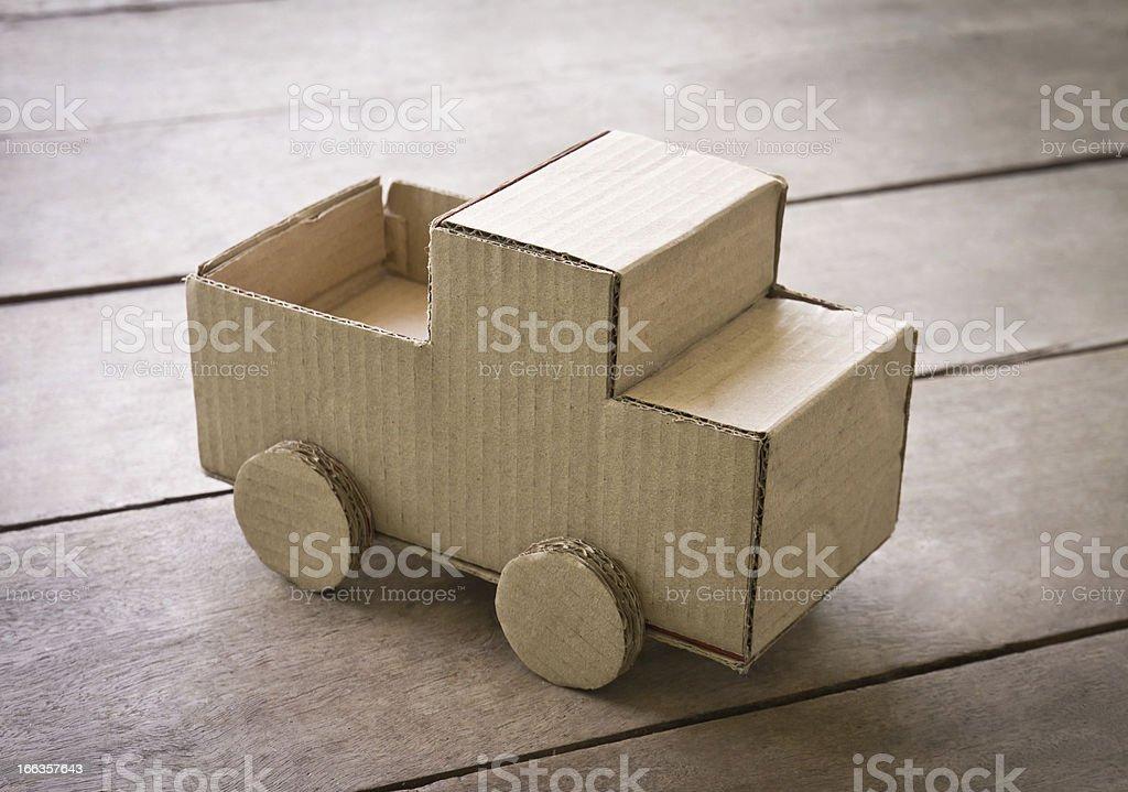 miniature truck royalty-free stock photo