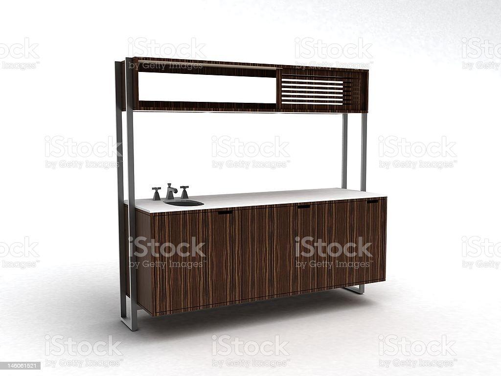Minibar stock photo
