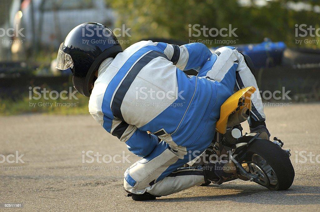 Minibike royalty-free stock photo