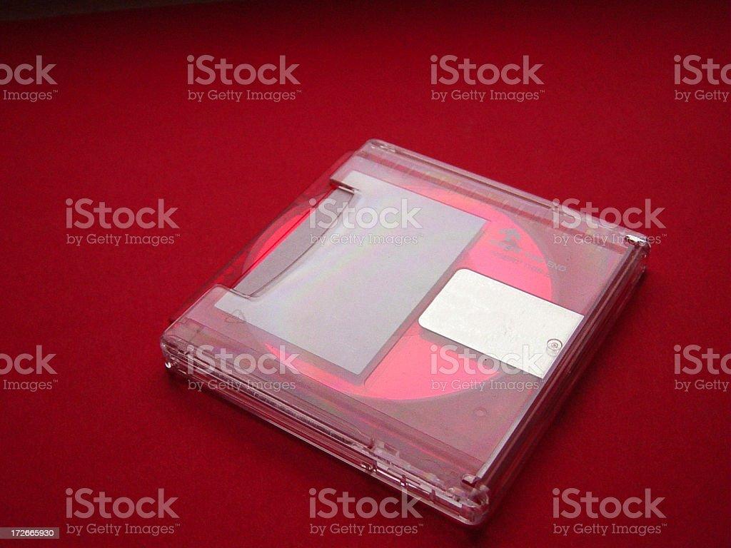 minidisc 3 stock photo