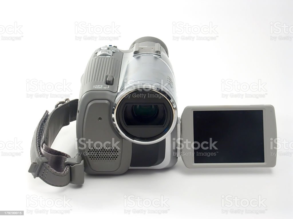 MiniDV Camcorder stock photo