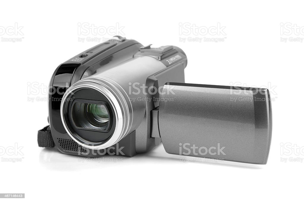MiniDV camcorder. stock photo