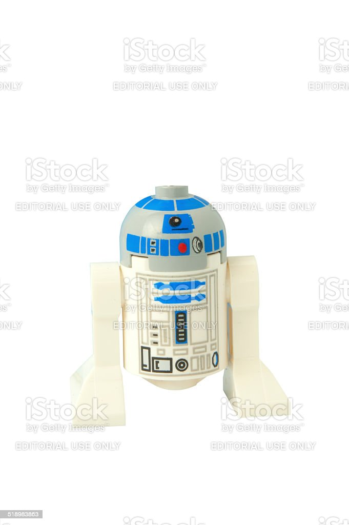 R2-D2 Minifigure stock photo