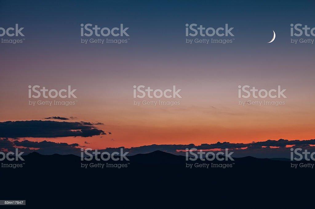 Minimal Landscape stock photo