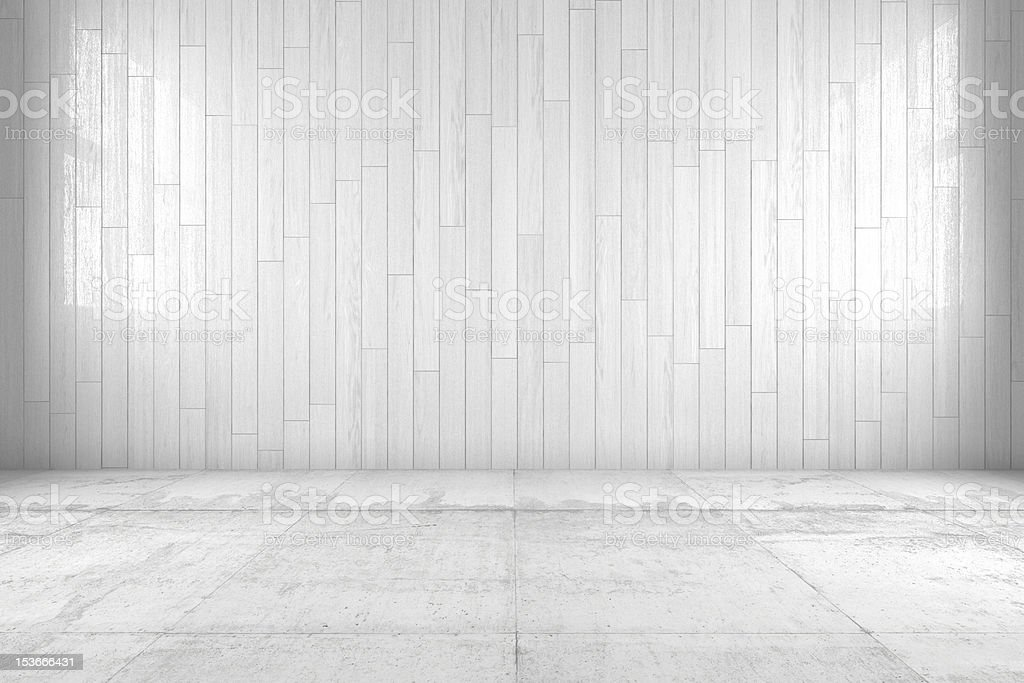 Minimal room stock photo