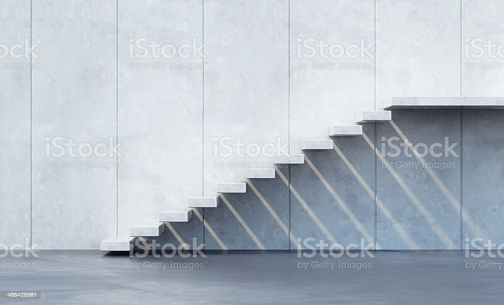 minimalism style stairs royalty-free stock photo