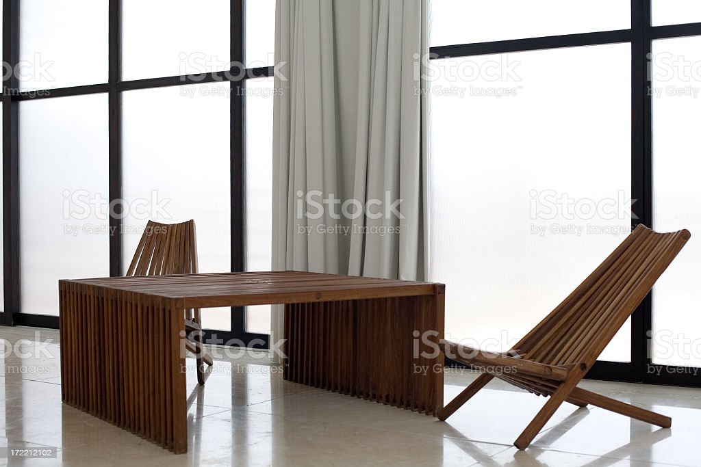 Minimalist Room at Deseo Hotel in Playa del Carmen royalty-free stock photo