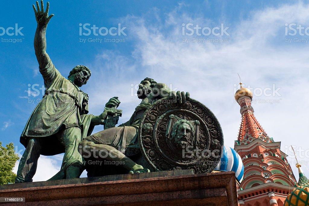 Minin and Pozharskiy stock photo