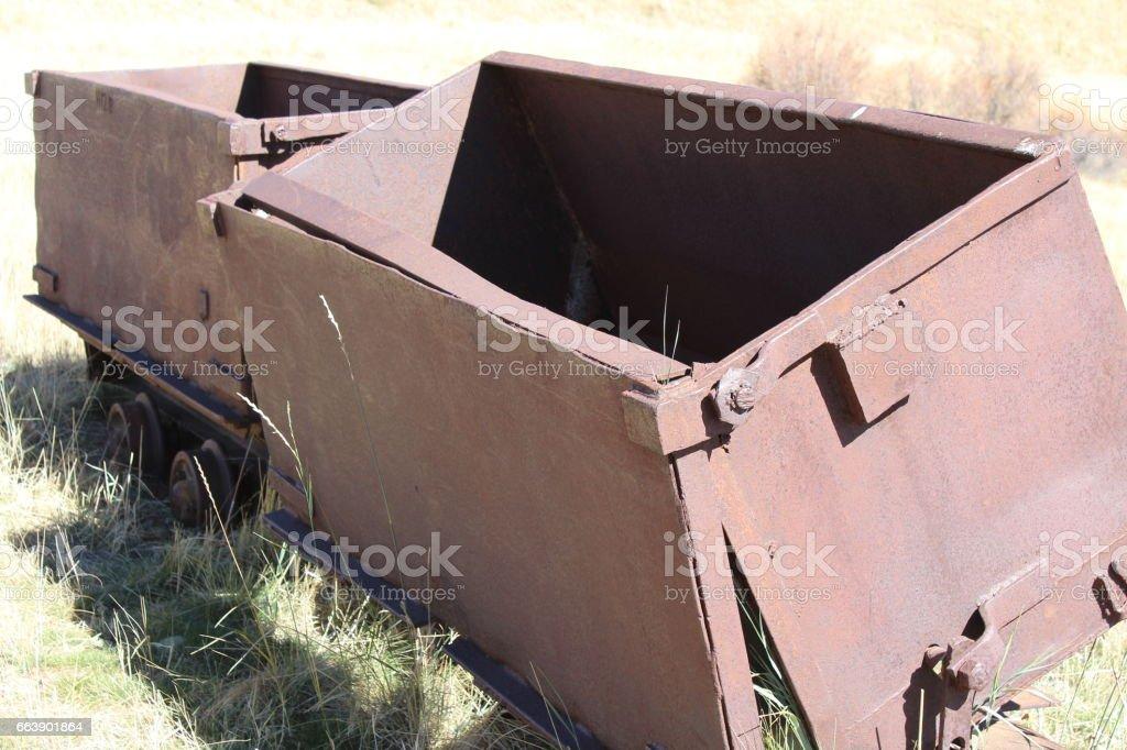 Mining car, 788 stock photo