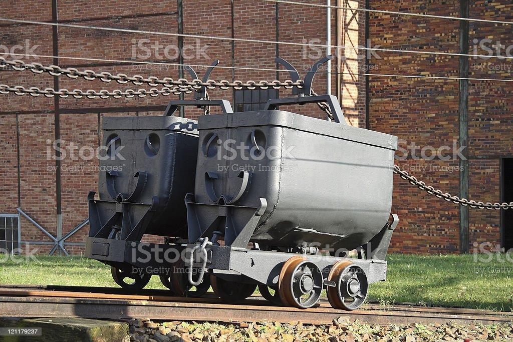 Mining Car, Minecart, Güterlore, Hunt stock photo