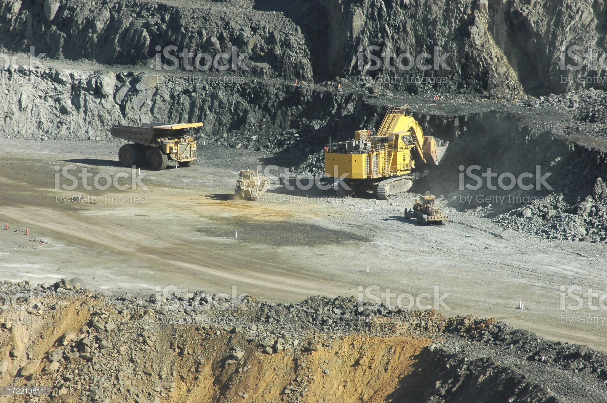 Mining Industry royalty-free stock photo