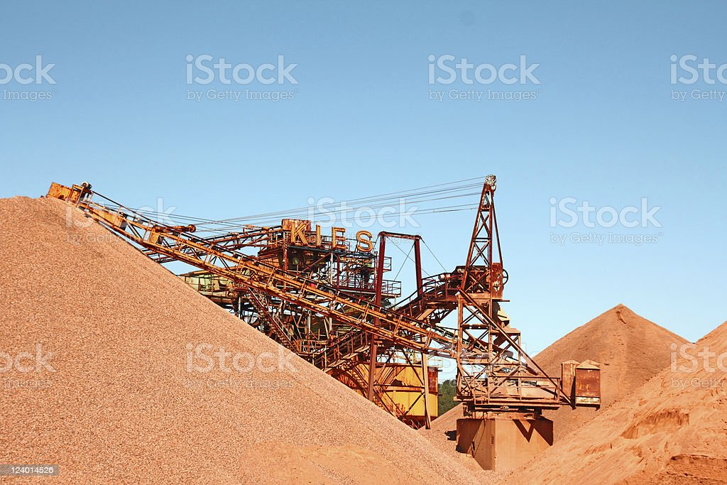Mining royalty-free stock photo