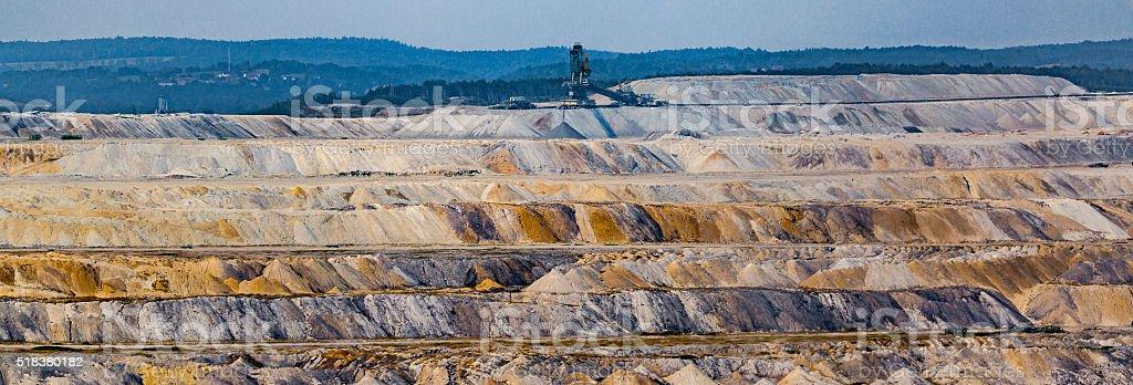 Mining stock photo