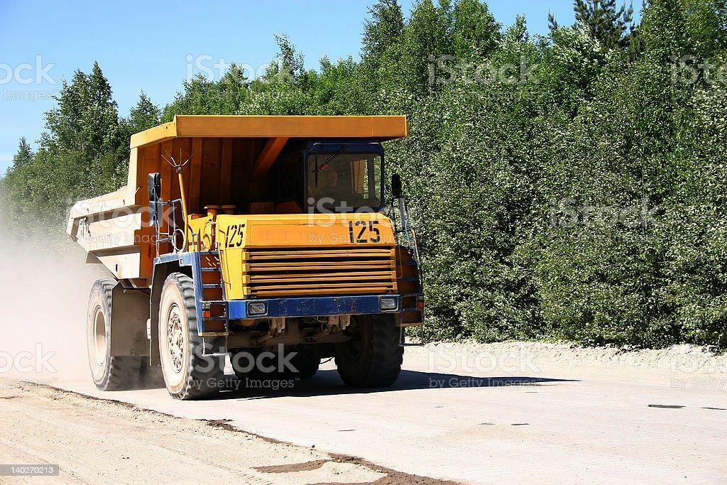mining truck 2 royalty-free stock photo