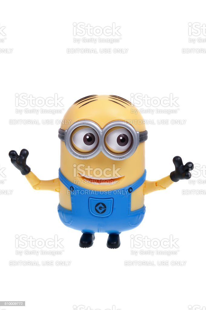 Minion Action Figure stock photo