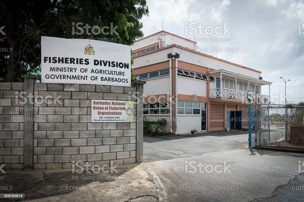 Ministry of Agriculture Building in Bridgetown, Barbados stock photo