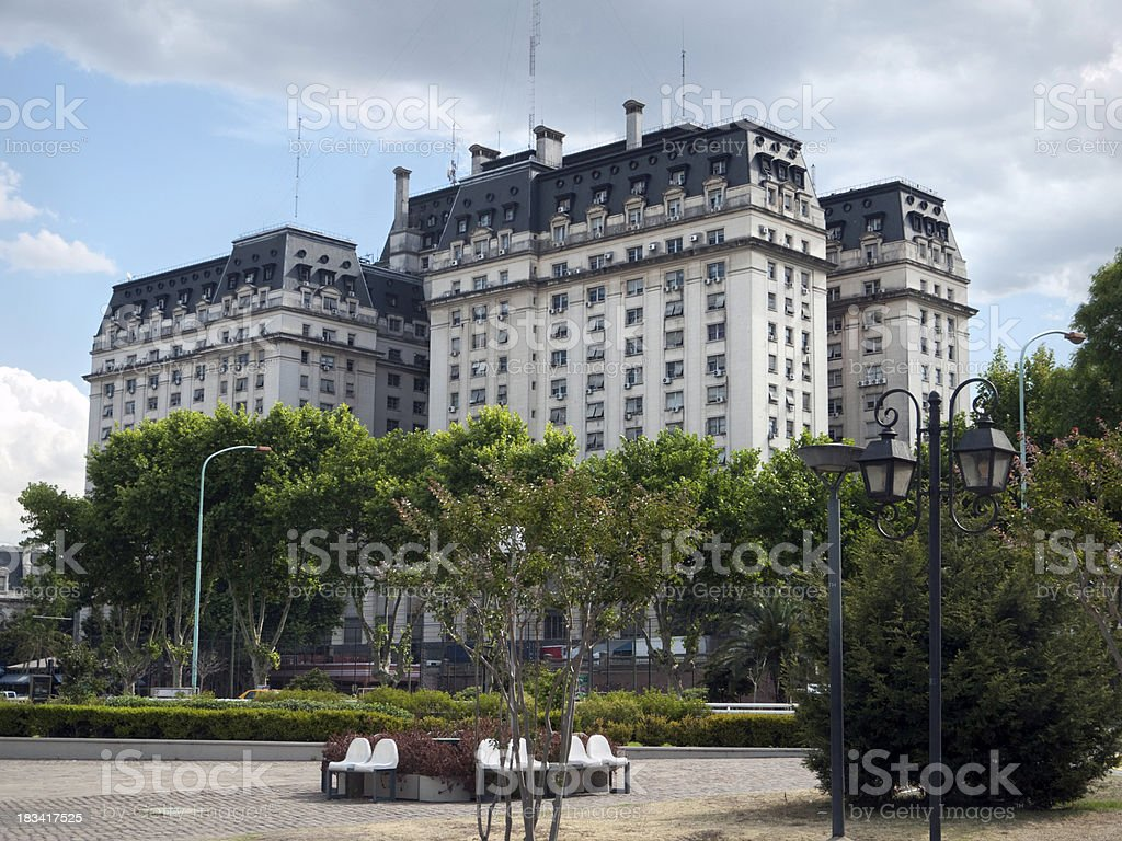 Ministry of Defence, Buenos Aires royalty-free stock photo