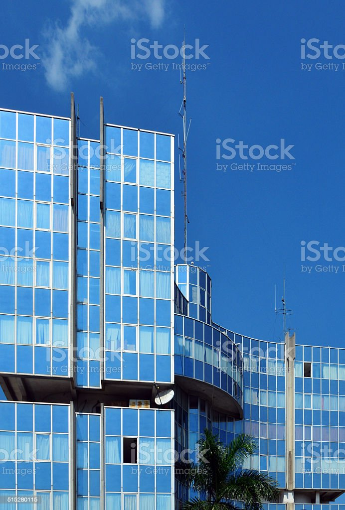 Ministry of Hydrocarbons - Brazzaville, Congo stock photo