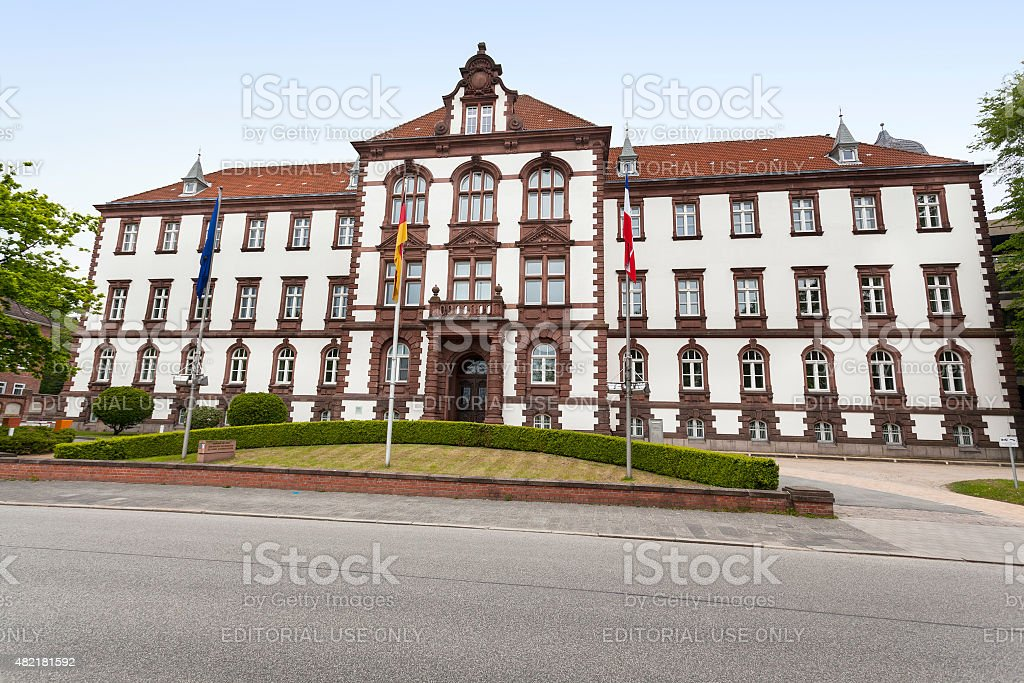 Ministry of Justice Schleswig-Holstein in Kiel, Germany stock photo