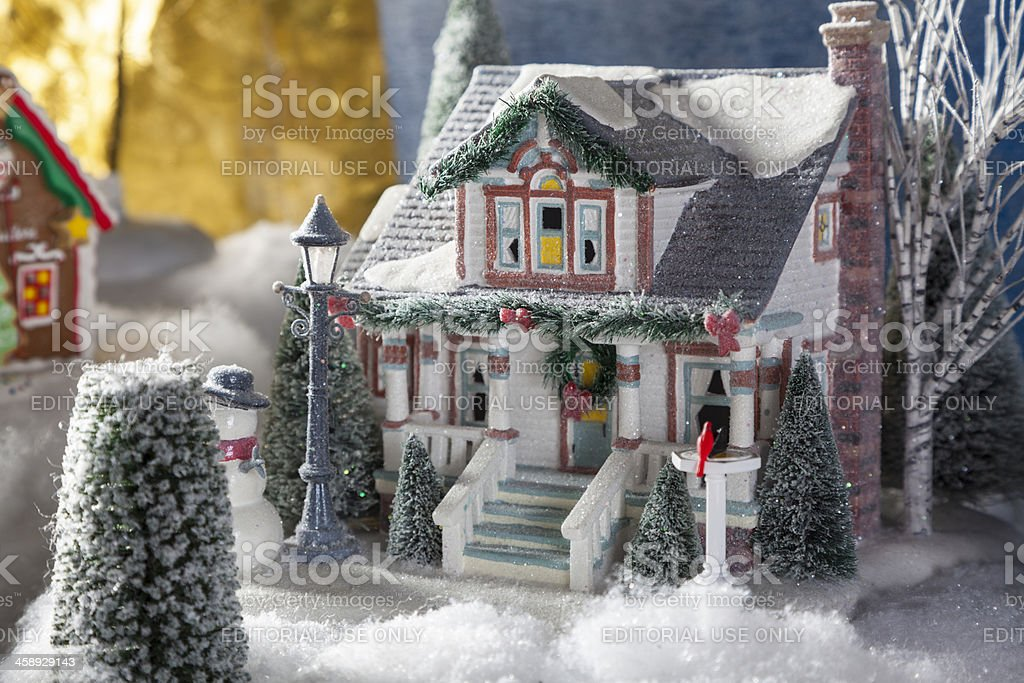 Miniture House royalty-free stock photo