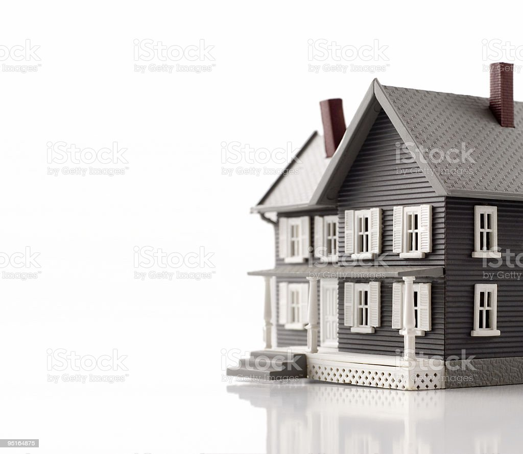 Miniture house stock photo