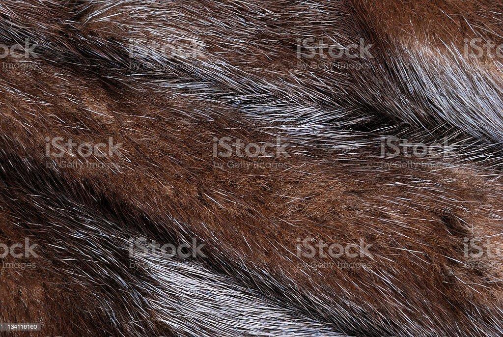 Mink fur stock photo