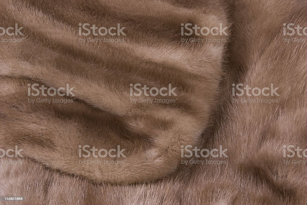 Mink Stole stock photo