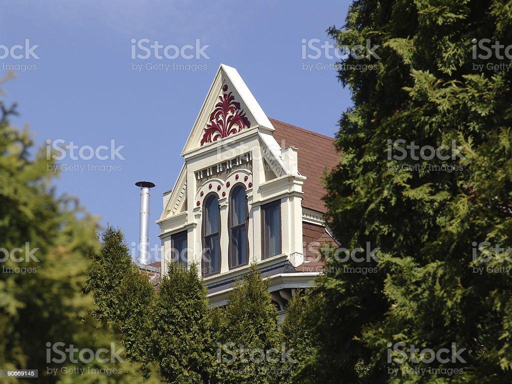 Minneapolis Housetop royalty-free stock photo