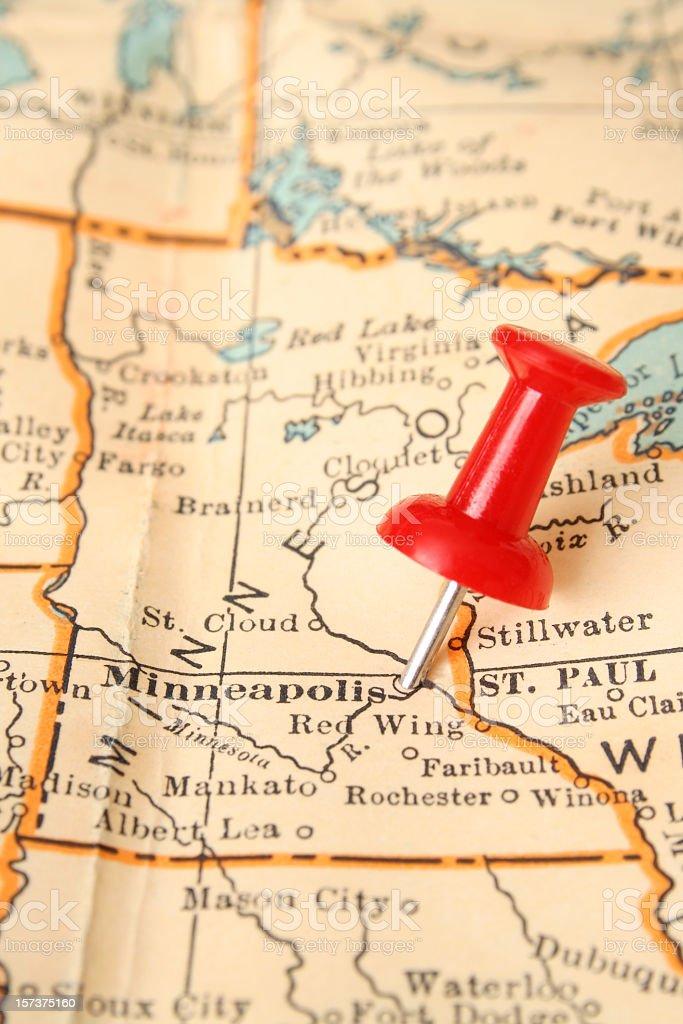 Minneapolis royalty-free stock photo